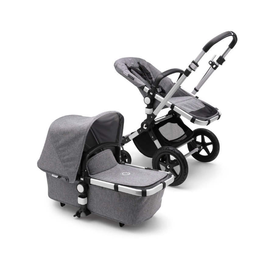 bugaboo Kinderwagen Cameleon 3 Plus Complete Alu/Grey Melange
