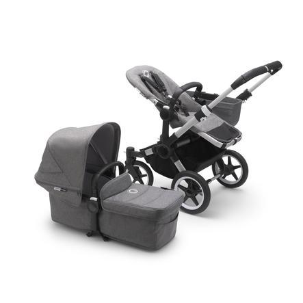 bugaboo Combi kinderwagen Donkey 3 Mono Complete Alu/Grey Melange