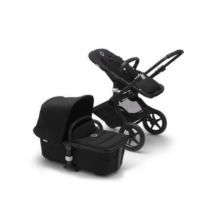 bugaboo Kombination Fox barnvagn 2 Svart / Svart