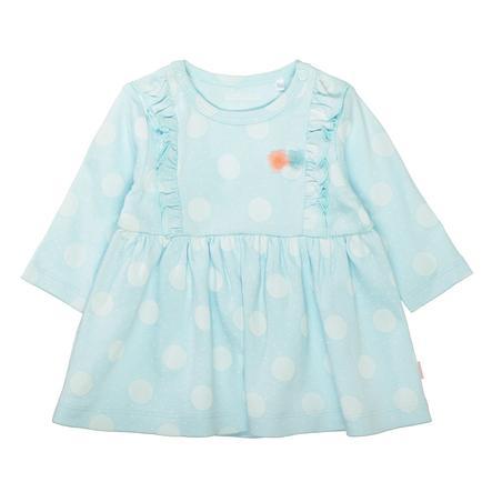 STACCATO  sukienka z cyjanem wzorzystym