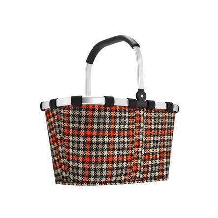 reisenthel ® carry borsa glencheck rosso