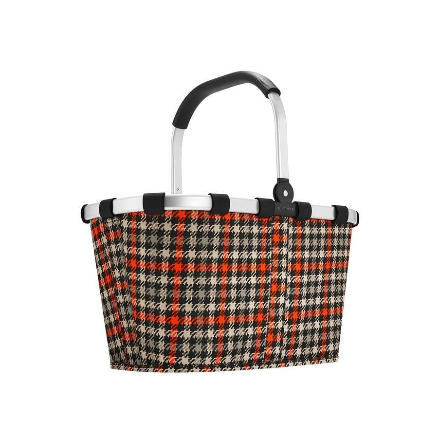 reisenthel ® carry bolsa glencheck rojo