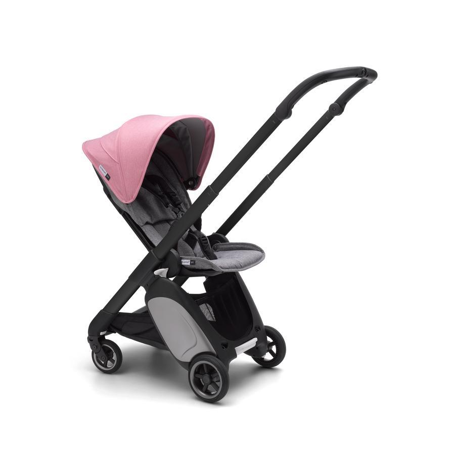Bugaboo Lastenvaunut Ant Black/Grey Melange-Pink Melange