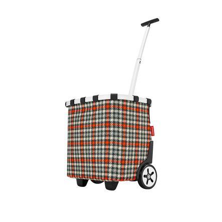 reisenthel ® carry cruiser glencheck rosso