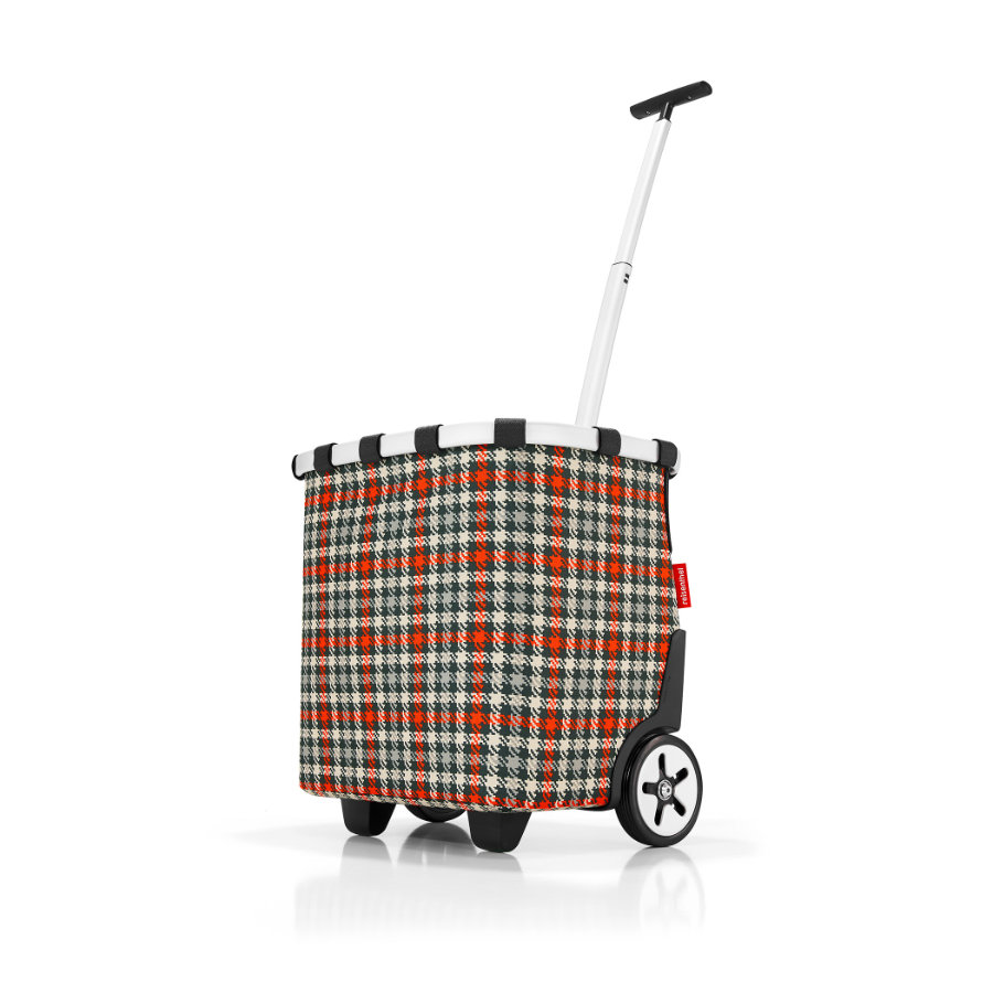 reisenthel® Valise à roulettes enfant carrycruiser glencheck red