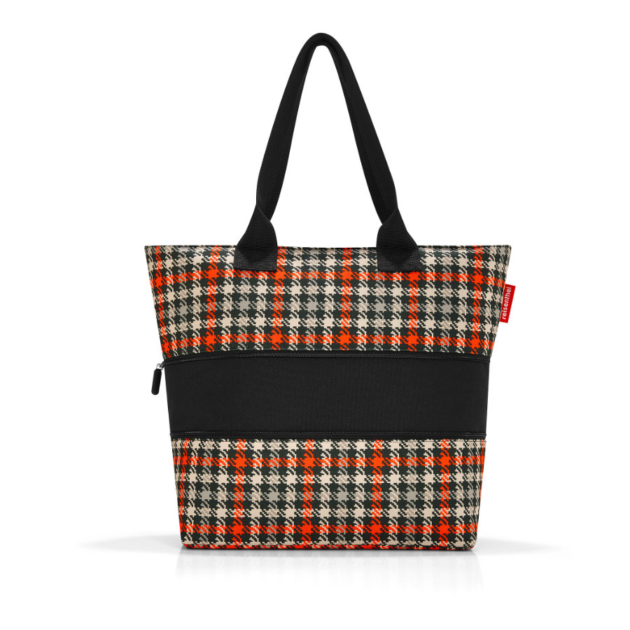 reisenthel ® shopper e1 glencheck red