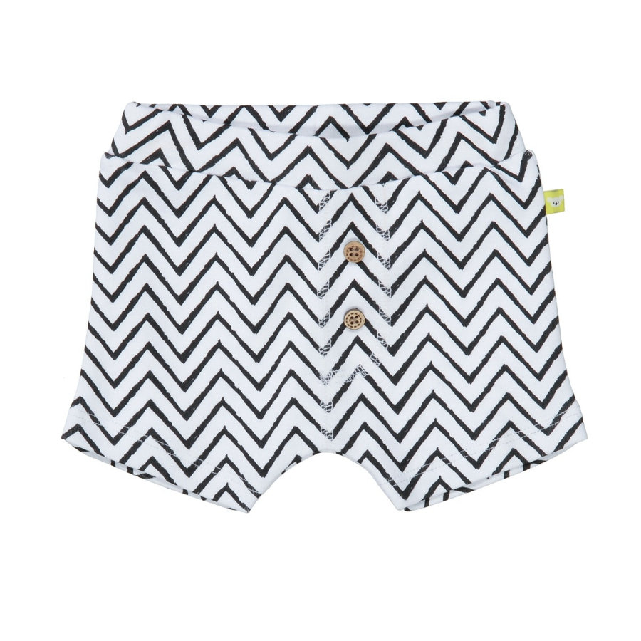 STACCATO Shorts weiß Alloverprint