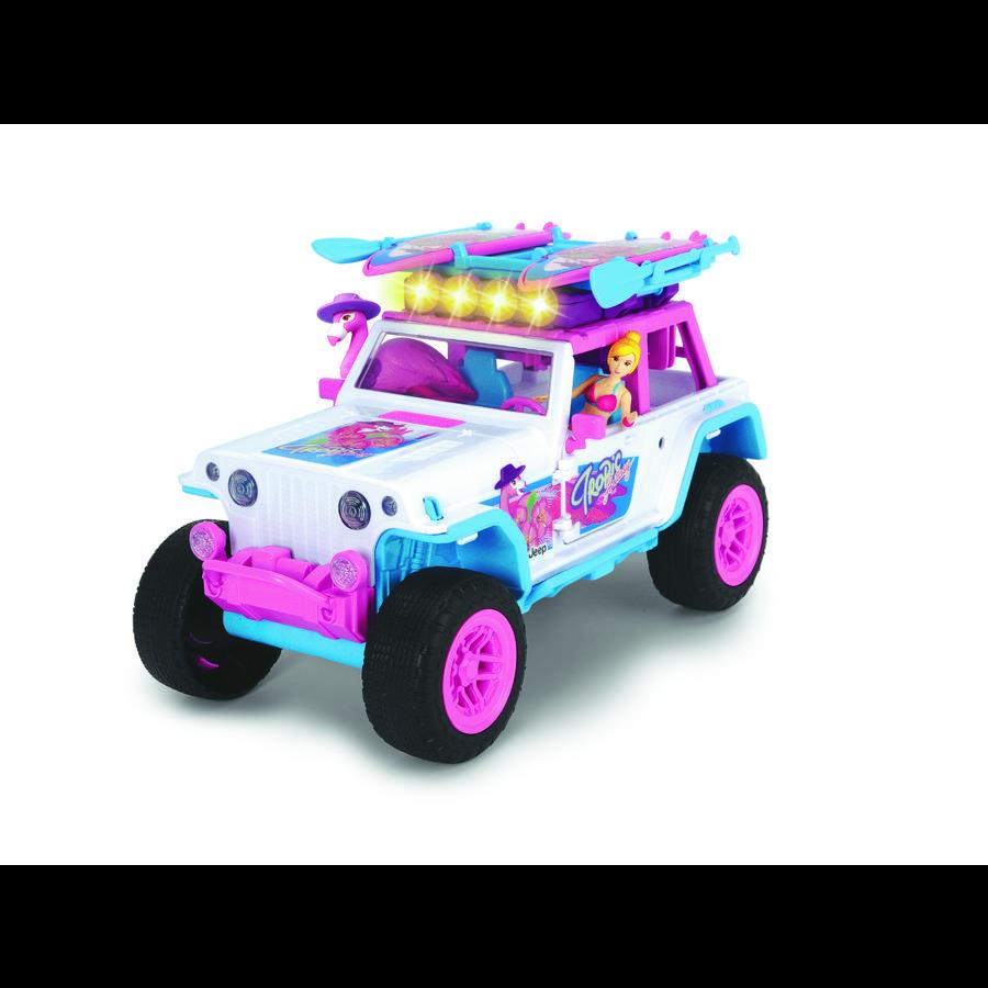 DICKIE Legetøj Pink Drivez Flamingo Jeep