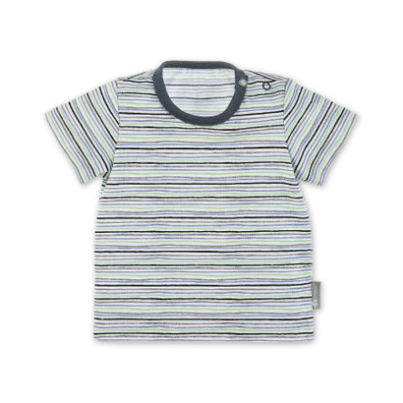 Sterntaler Koszula z krótkim rękawem biała