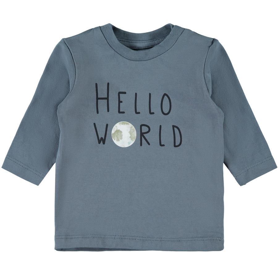 name it Camisa de manga larga NBMFESTA china azul