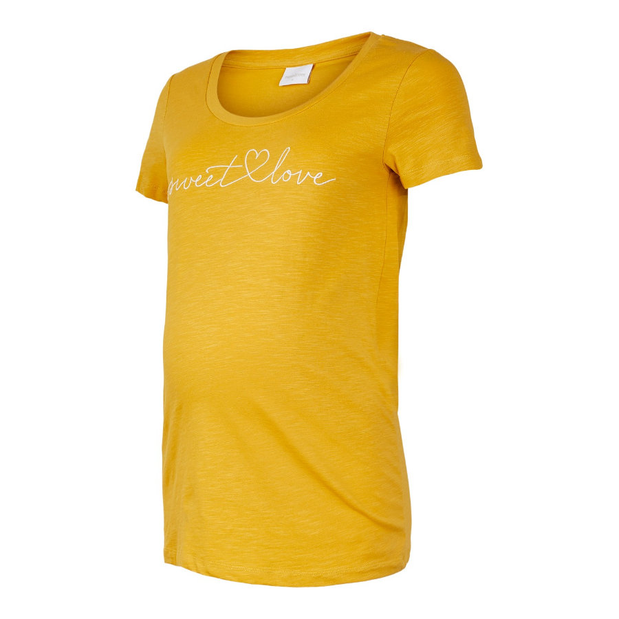 mama;licious Omstandigheden shirt MLELISE Chinees Yellow