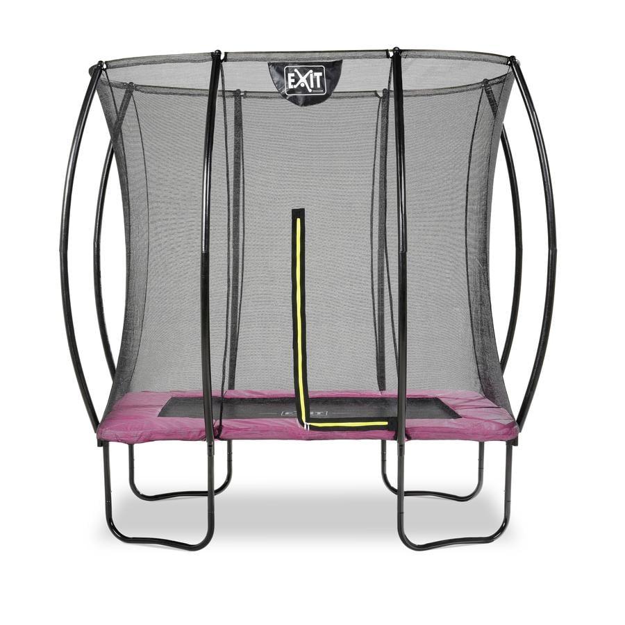 EXIT Silhouet trampoline 153 x 214 cm, roze