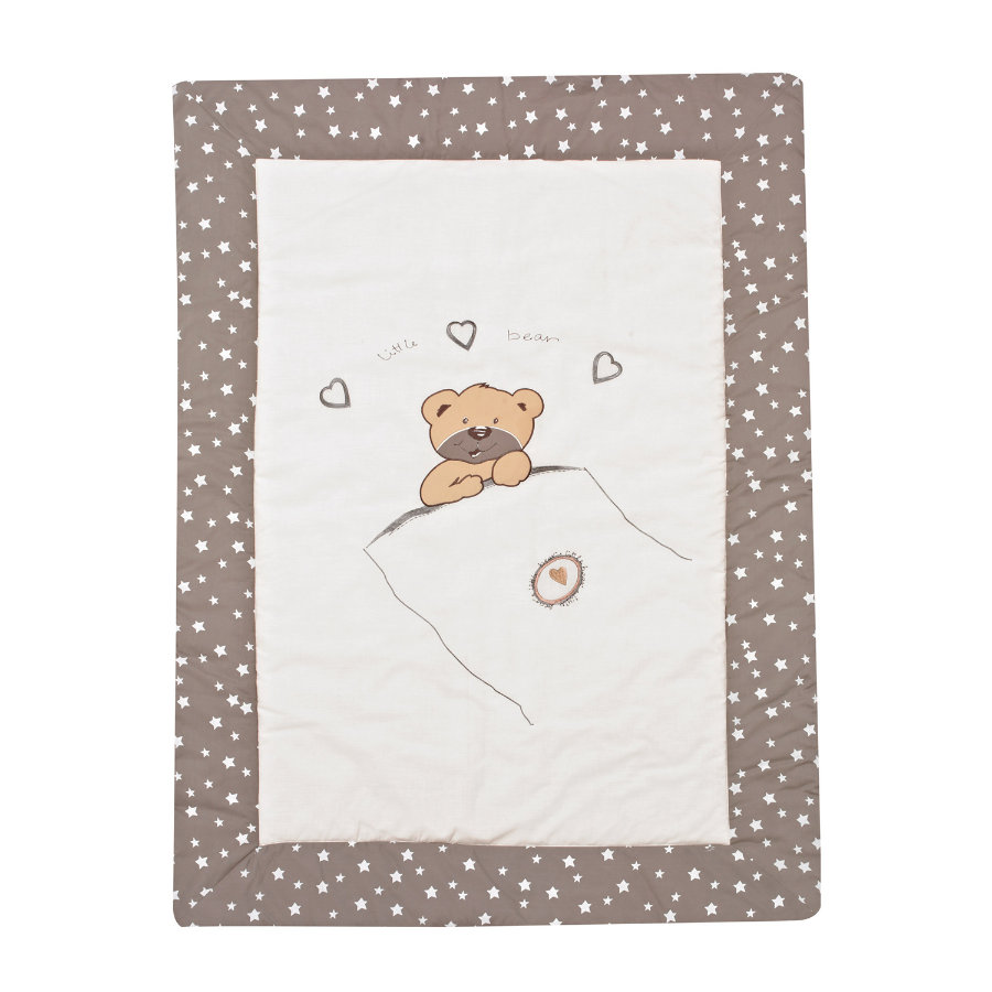 ALVI Couverture de jeu application - Little bear beige 100 x 135