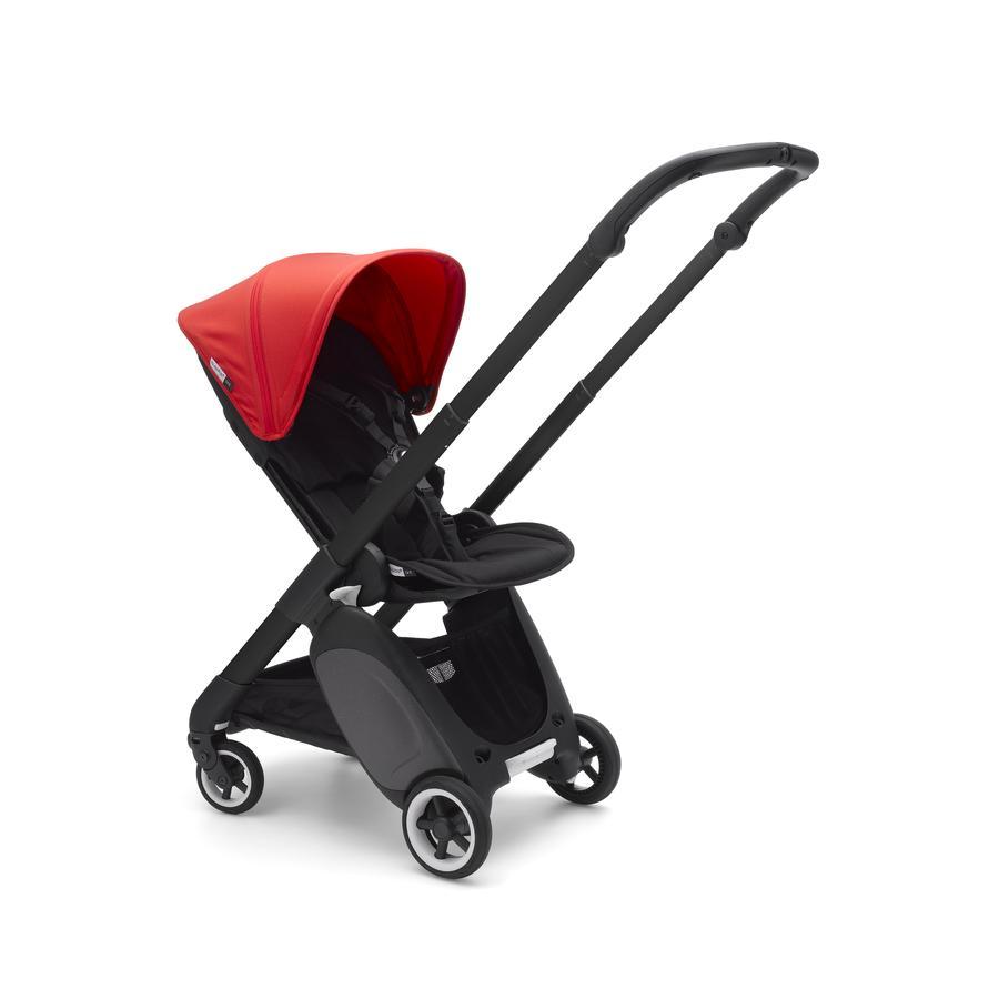 Bugaboo Kinderwagen Ant inkl. Zubehörset Black/Black-Neon Red