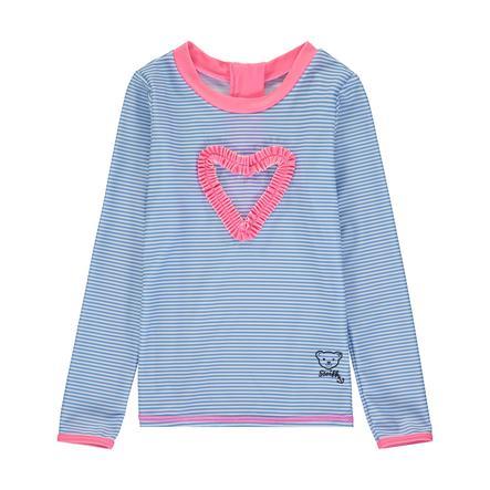 Steiff UV Shirt, forever blue/pink