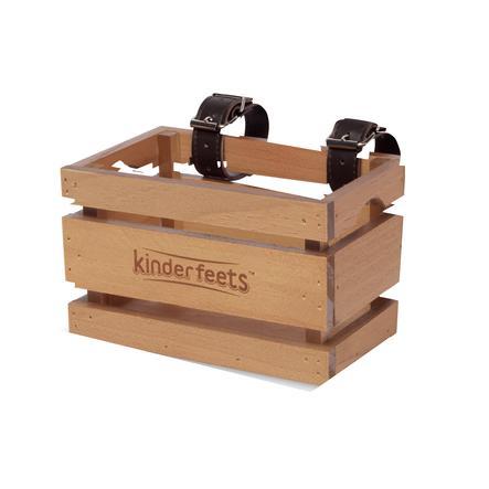 Kinderfeets ® Cesta para bicicleta infantil madera