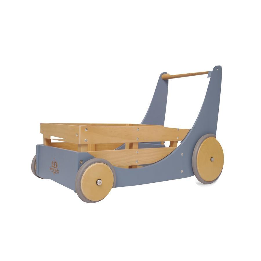 Kinderfeets® Chariot enfant, bois bleu