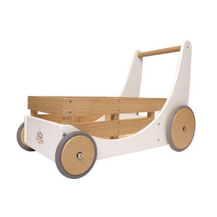 Kinderfeets® Chariot enfant, bois blanc
