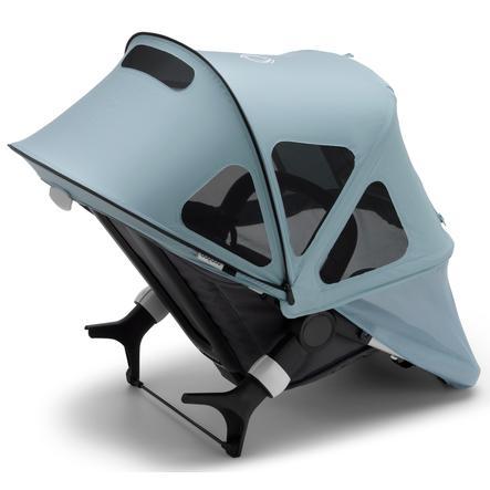 bugaboo Sonnendach mit Lüftungsfenstern Breezy Fox/Cameleon 3 Vapor Blue