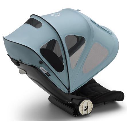 bugaboo Soltak med ventilasjonsvinduer Bee 5 Vapor Blue