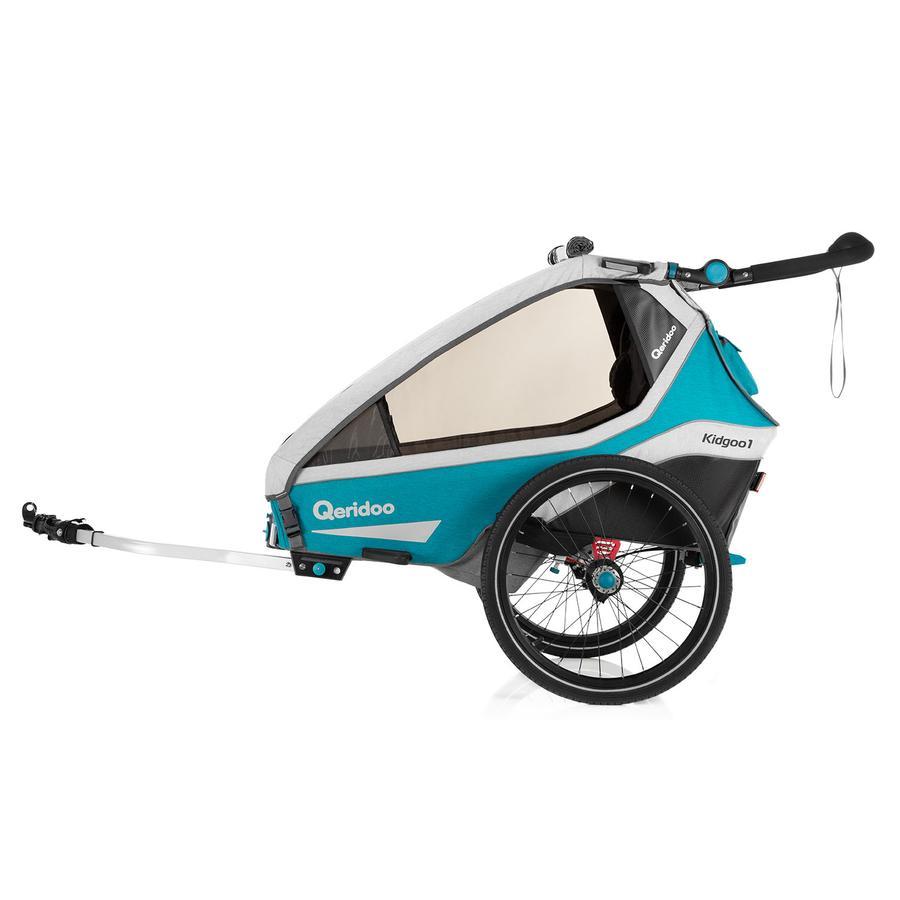 Qeridoo® Barnesykkeltrailer Kidgoo1 Bensin