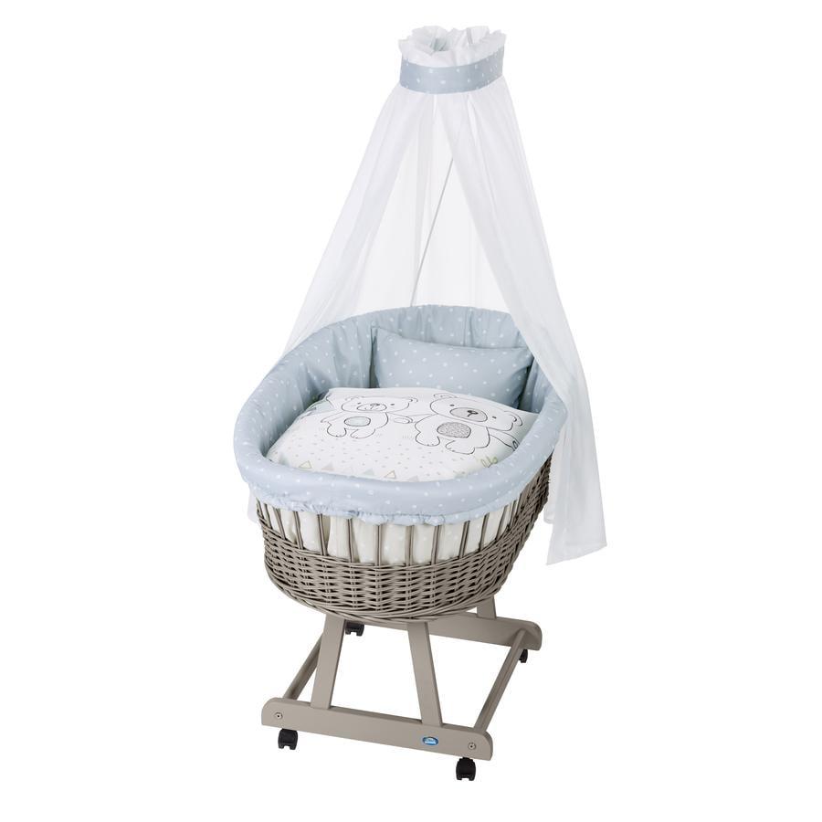Alvi ® Complete buiswagen Birth e taupe, tipi Bear