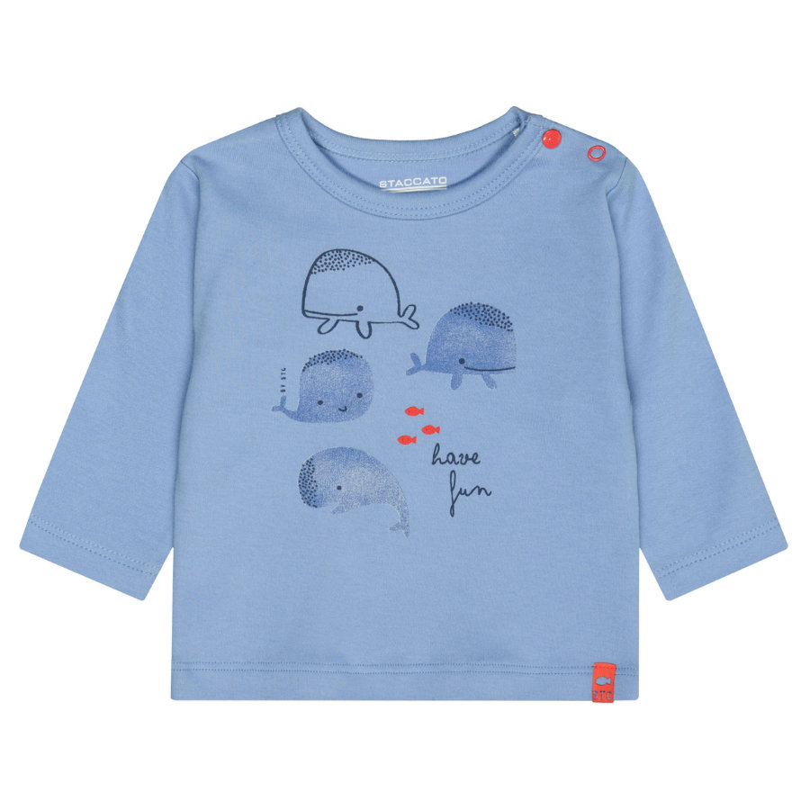 STACCATO Shirt soft ocean