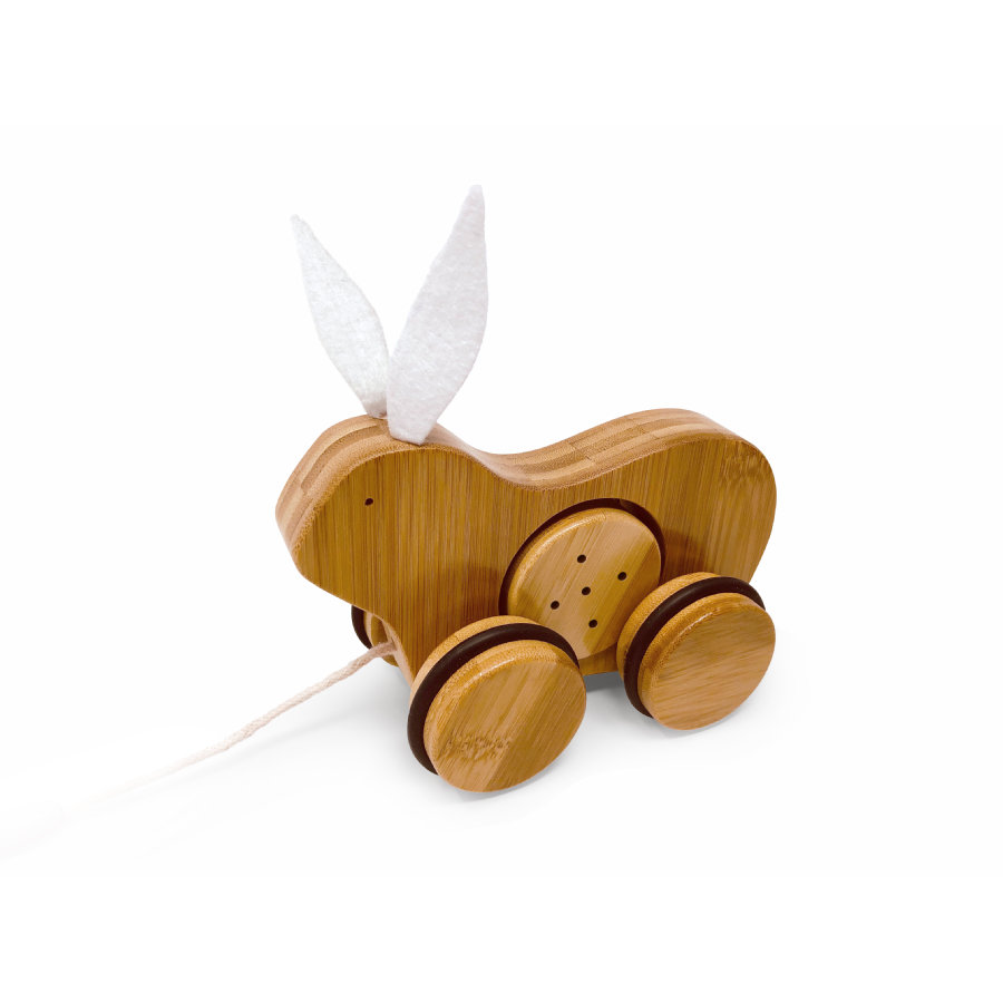Kinderfeets® Nachziehtier Hase, Bambus