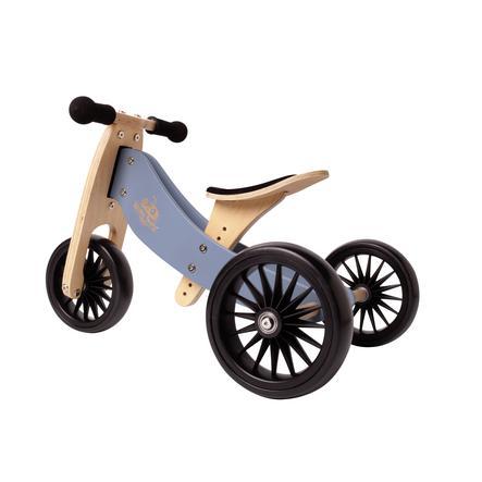 Kinderfeets® 2-in-1 Dreirad Tiny Tot Plus, blau