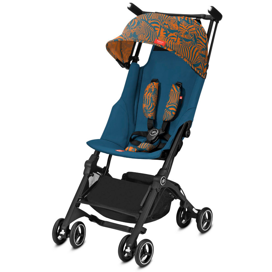 gb GOLD Buggy Pockit+ All Terrain Fashion Edition Atlantic Orange
