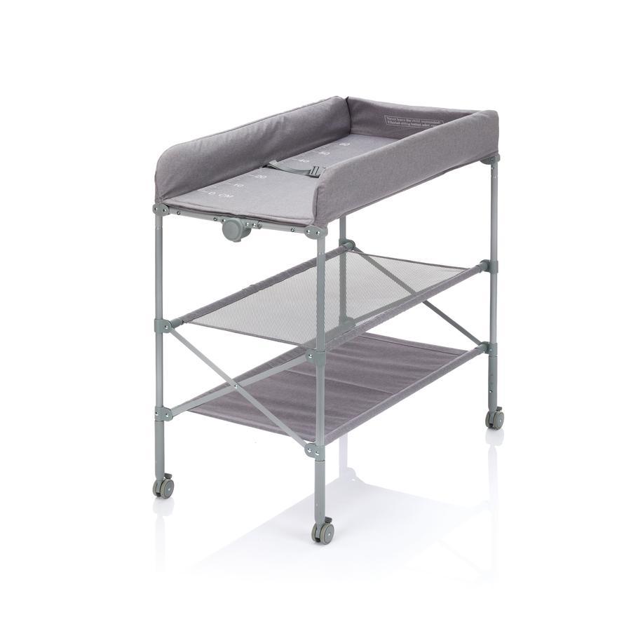 fillikid Combi table à langer bain pliable, mélange gris