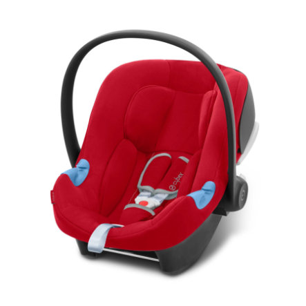 cybex SILVER Babyschale Aton B i-Size Dynamic Red