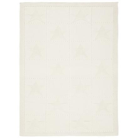 Alvi pletená přikrývka hvězda 75 x 100 cm