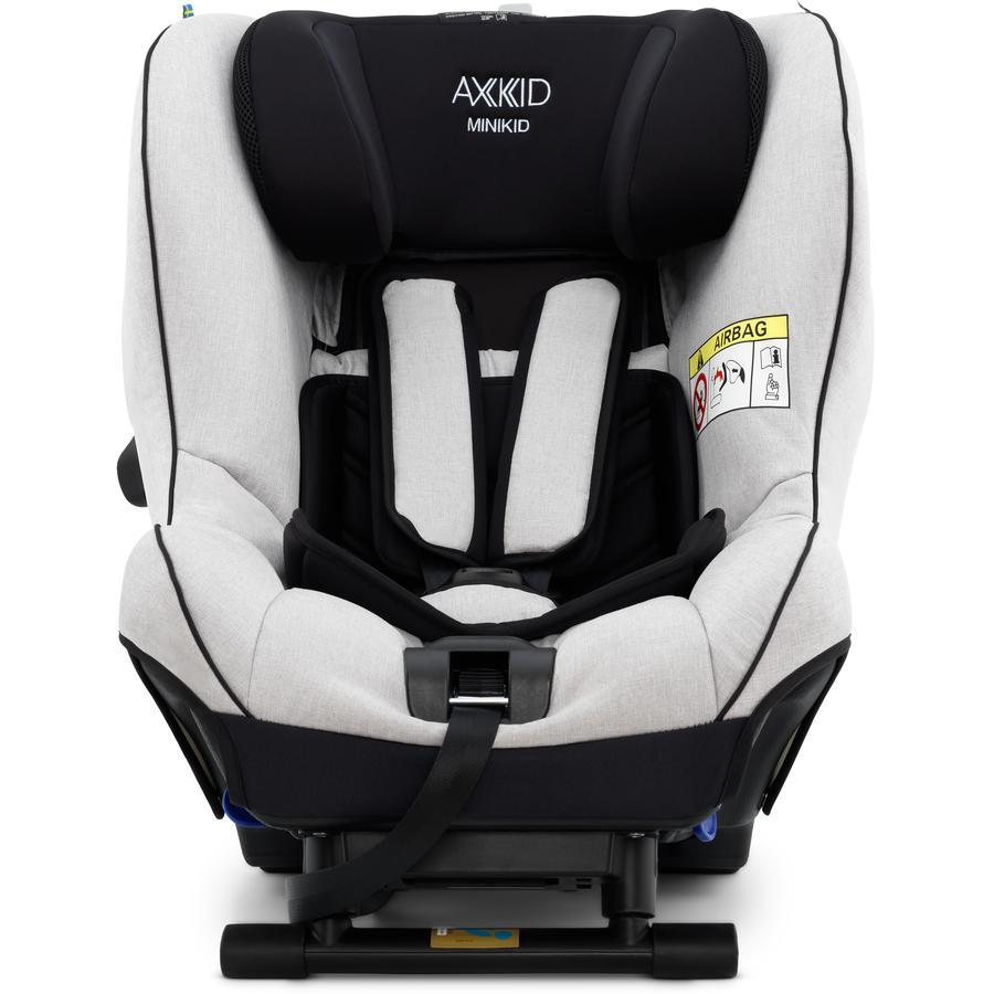 AXKID Kindersitz Minikid 2.0 Premium Sky Grey