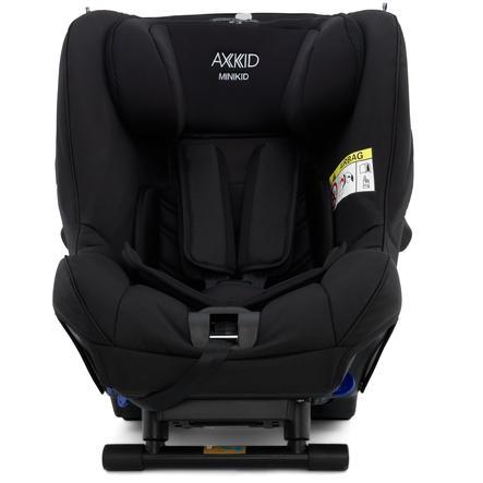 AXKID Seggiolino per bambini Minikid 2.0 Premium Shell Black