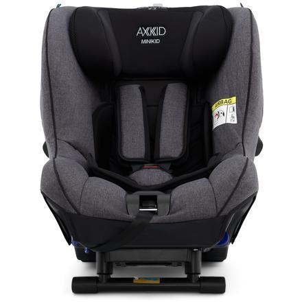 AXKID Kindersitz Minikid 2.0 Premium Granite Melange