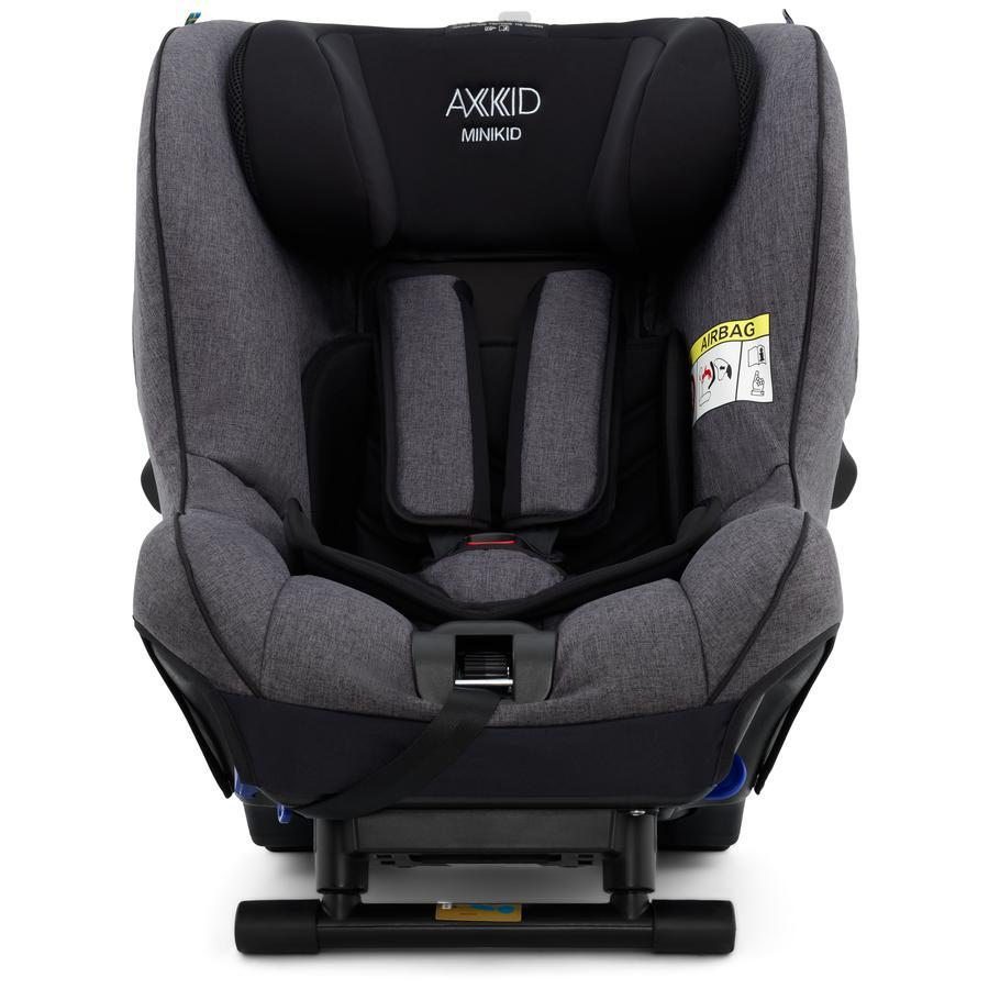 AXKID Kindersitz Minikid 2.0 Premium Granite Black