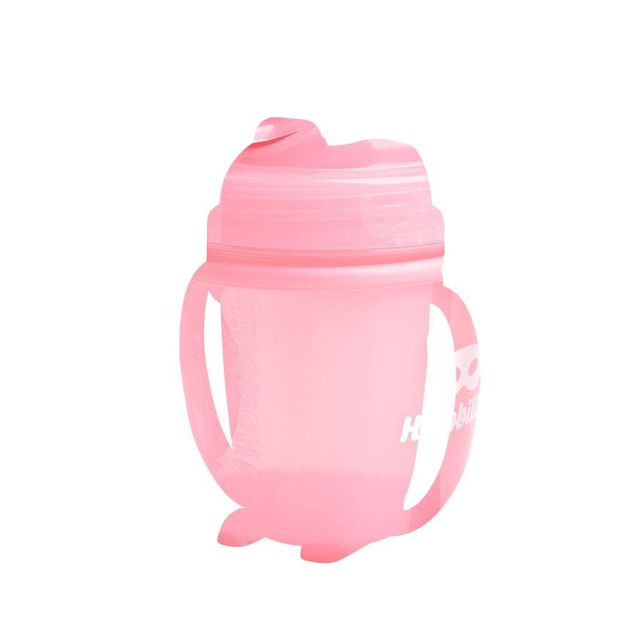 Herobility Tasse enfant HeroSippy rose 140 ml