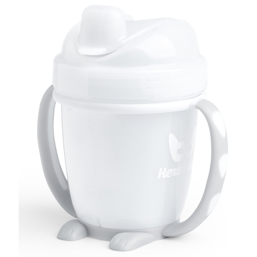 Herobility Tasse enfant HeroSippy blanc 140 ml