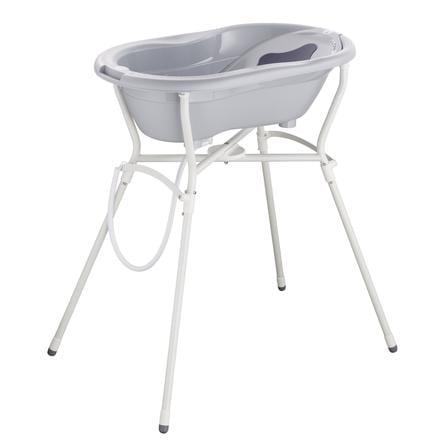 Rotho Baby design  TOP onderhoudsset 4-delig met badstandaard stone grijs