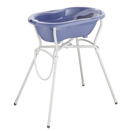 Rotho Baby design  TOP care set 4 pezzi con supporto vasca blu freddo