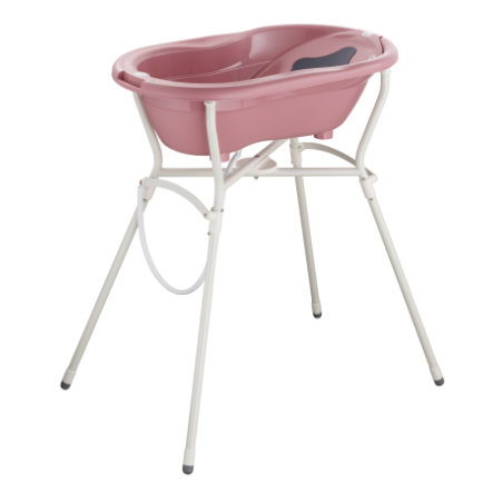 Rotho Babydesign Set de bain baignoire bébé et support TOP 4 pièces fantastic mauve