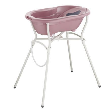 Rotho Babydesign TOP Pflegeset 4-teilig mit Wannenständer fantastic mauve