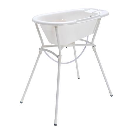 Rotho Babydesign Set de bain enfant Bella Bambina 4 pièces blanc