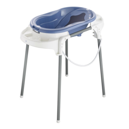 Rotho Babydesign TOP Badestation cool blue  4-teilig