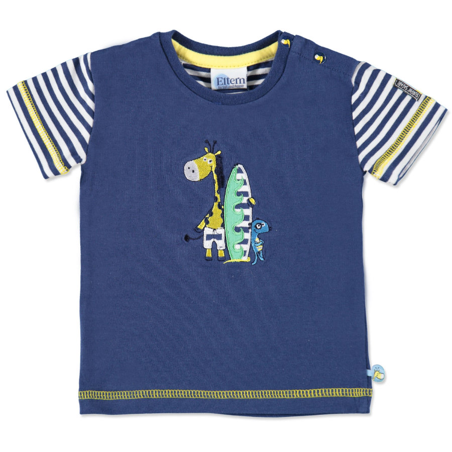 ELTERN by SALT AND PEPPER Boys Baby T-Shirt ink blue