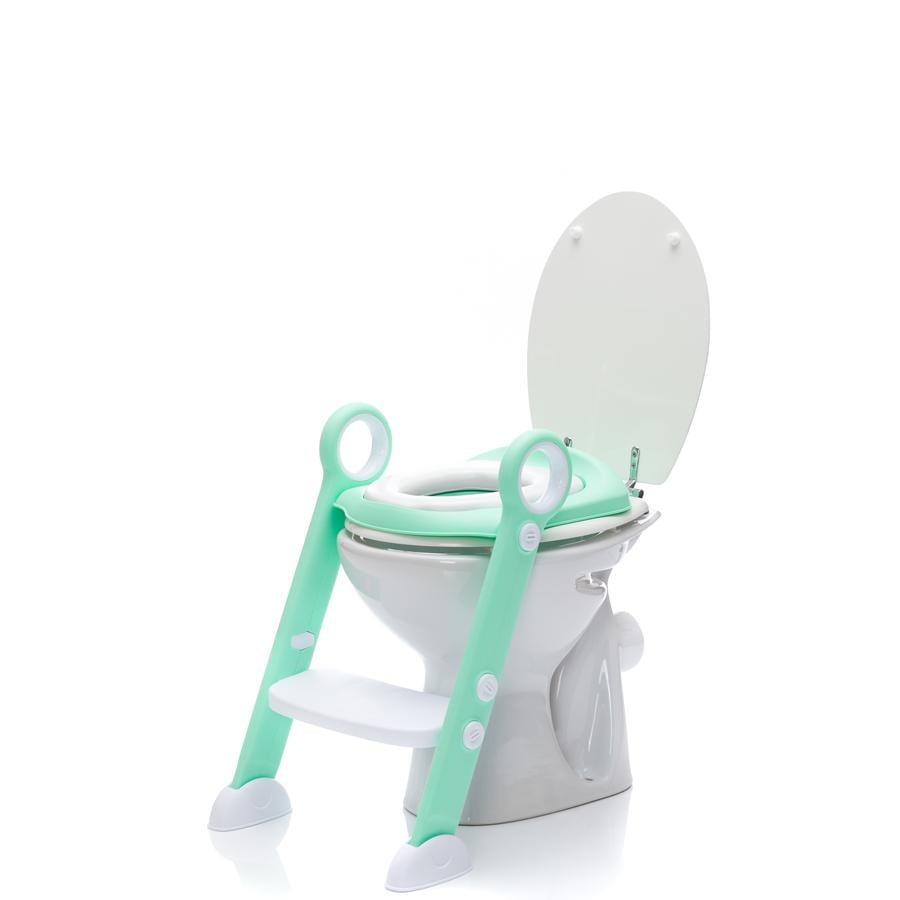 fillikid Réducteur de toilette à marchepied Friend menthe, siège PVC VE3