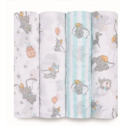 aden ® Puck Cloths dumbo nya höjder 4-pack
