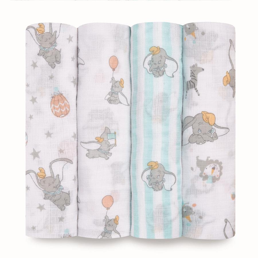 aden ® Puck Cloths dumbo new heights 4 pack
