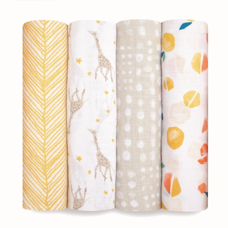 aden ® puck ručníky starry star 4-pack